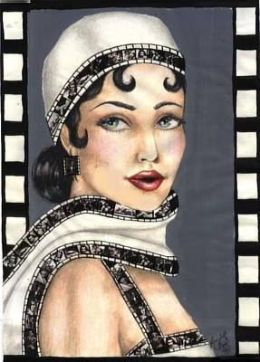 Film 2 Art Print by Scarlett Royal