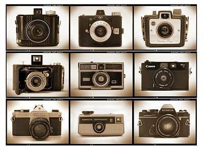 Film Camera Proofs 1 Art Print by Mike McGlothlen