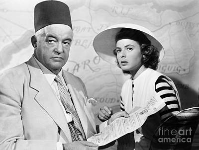 Film: Casablanca, 1942 Art Print by Granger