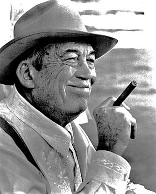 Giuseppe Cristiano - Film director actor writer John Huston as Noah Cross in neo-film noir classic Chinatown 1974-2015 by David Lee Guss