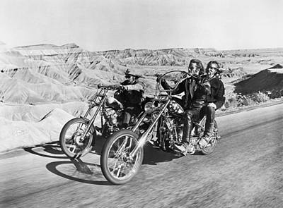 Film: Easy Rider, 1969 Art Print by Granger