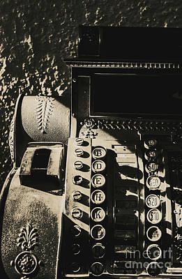 Shopping Wall Art - Photograph - Film Noir Cashier by Jorgo Photography - Wall Art Gallery