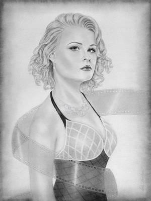 Film Star Art Print by Nicole I Hamilton