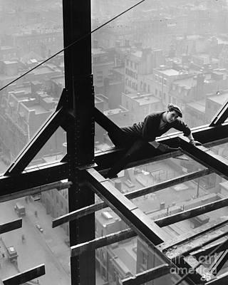 Film Still: Construction Art Print