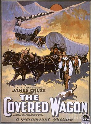 Film: The Covered Wagon Print by Granger