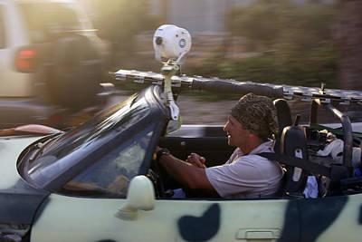 Filming In Bethlehem Original by Munir Alawi