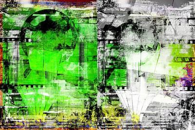 Digital Art - Filmtape by Art Di