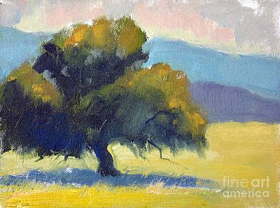 Painting - Filoli Oak by Sandra Smith-Dugan