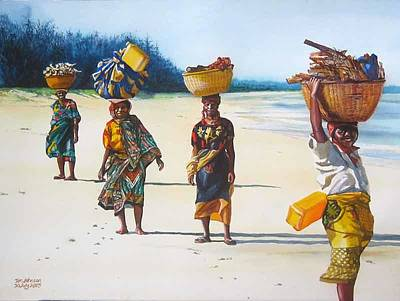 Painting - Fim Do Mundo by Tim Johnson