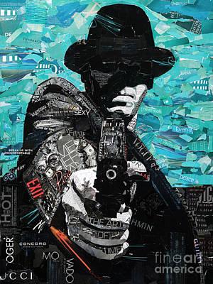 Fin. A Tribute To Film Noir Art Print by Dominic DaSylva