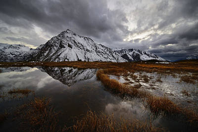 Alpine Photograph - Fin De L'automne by Marco Barone