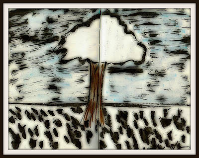 Digital Art - Fun In Trees 4 by Mario Perron