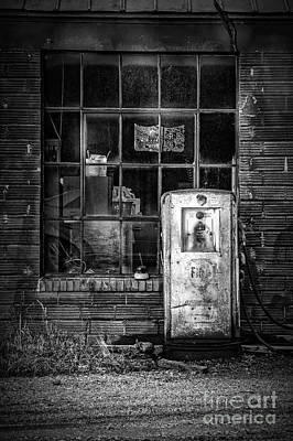 Photograph - Fina Gas Pump by Imagery by Charly