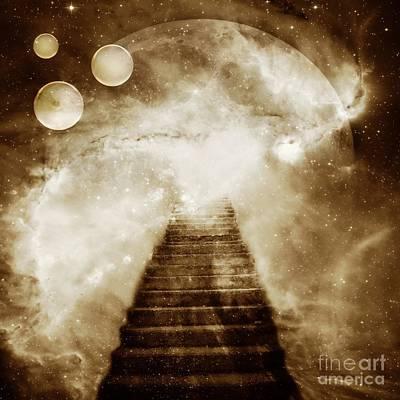 Steps Digital Art - Final Destination by Jacky Gerritsen