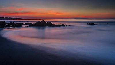 Photograph - Final Glow by Alistair Lyne