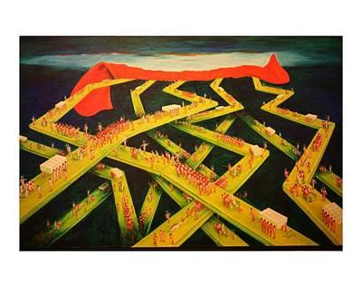Painting - Final Judgement by Santiago Ribeiro