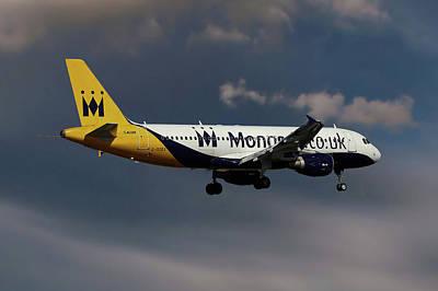 Monarch Wall Art - Photograph - Final Landing  by Smart Aviation