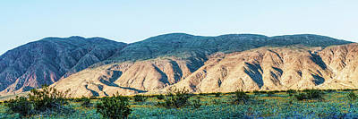 Digital Art - Final Light On Coyote Ridge by Daniel Hebard