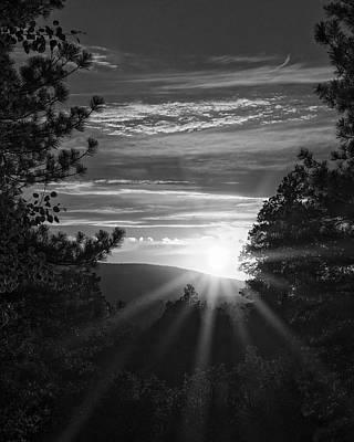 Photograph - Final Rays Of Light by Jason Coward