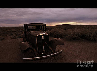 Photograph - Final Rusting Place by Eric Liller