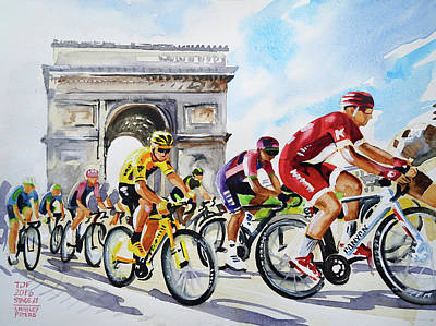 Final Stage Art Print by Shirley Peters