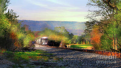 Photograph - Final Stretch by Rick Lipscomb
