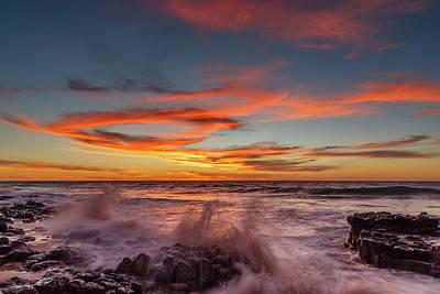 Photograph - Final Sunset Of 2016 by Robert Caddy