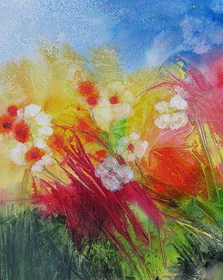 Painting - Finally Spring by Marilyn Woods