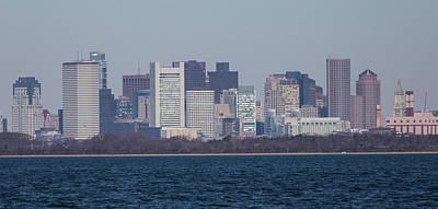 Photograph - Financial District Boston by Brian MacLean