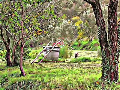 Photograph - Find Peace In Umbria by Dorothy Berry-Lound