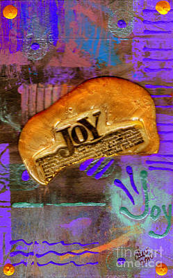 Mixed Media Royalty Free Images - Find Your Joy Royalty-Free Image by Angela L Walker