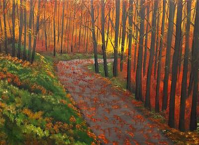 Painting - Find Your Way Alone by Lisa Aerts