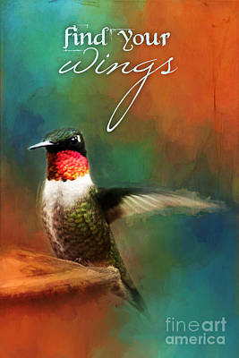 Photograph - Find Your Wings Hummingbird by Christina VanGinkel