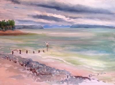 Findhorn Bay Art Print