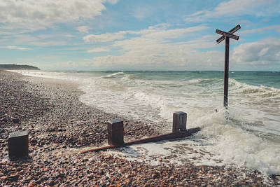 Photograph - Findhorn Coast by Ray Devlin
