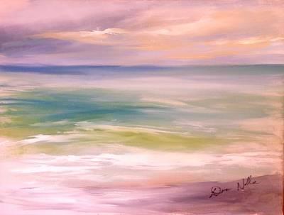 Findhorn Emerald Sea Art Print