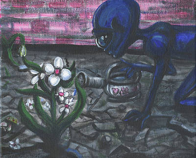 Painting - Finding Beauty Everywhere by Similar Alien