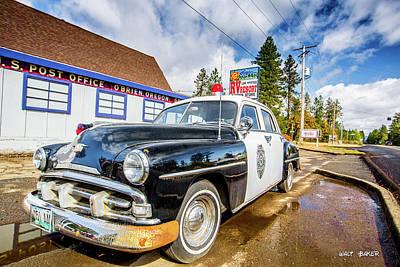 Photograph - Finding Car 54 by Walt Baker