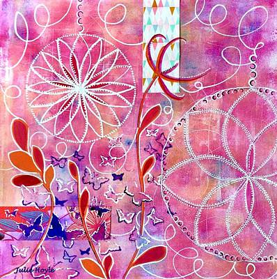 Painting - Finding Center by Julie Hoyle