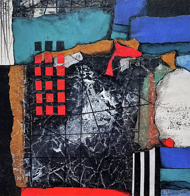 Mixed Media - Finding Good Direction II by Laura Lein-Svencner