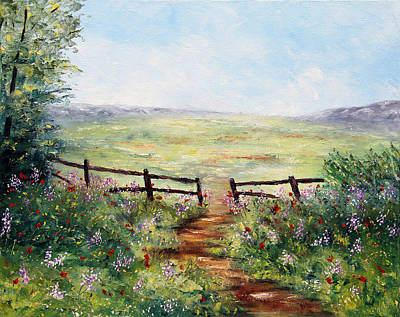 Painting - Finding Pasture by Meaghan Troup
