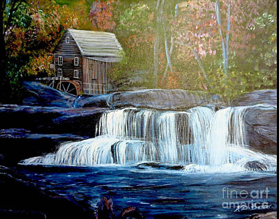 Painting - Finding The Living Waters Original by Kimberlee Baxter