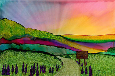 Painting - Find The Way Antigonish Ns by Eli Tynan