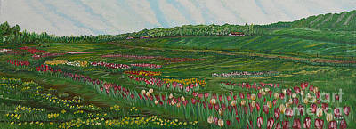 Painting - Finding The Way To You - Spring In Emmental by Felicia Tica