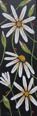 Acrylic Painting - Finding Your Way by Lori McPhee