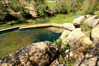 Fine Art America Pic 120 Jacobs Well Park Print by Darrell Taylor