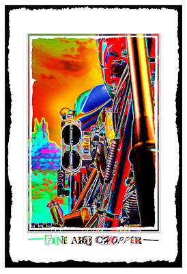 Fine Art Chopper I Print by Mike McGlothlen