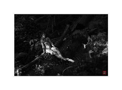 Outdoor Nude Photograph - Fine Art Nude Ne #4 by Catherine Lau