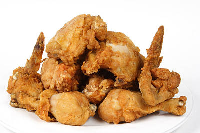 Fine Art Fried Chicken Food Photography Art Print by James BO  Insogna