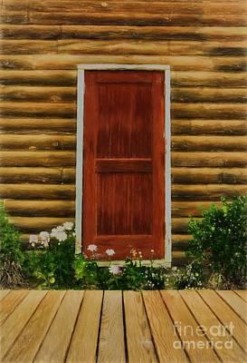 Log Cabin Art Photograph - Fine Art In Skagway 2 by Mel Steinhauer
